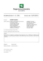 D.g.r. 12 luglio 2013 n° 392 - ANGSA Lombardia ONLUS