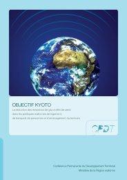 Objectif Kyoto, dépliant - CPDT Wallonie