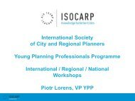 YPP Presentation - Isocarp
