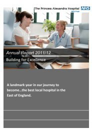 2011/12 Annual Report and Accounts - The Princess Alexandra ...