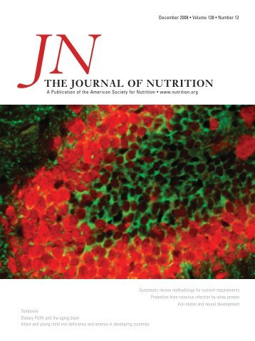 Front Matter (PDF) - Journal of Nutrition - American Society for ...