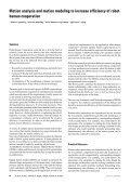 Effizienzsteigerung durch die Bewegungsanalyse und ... - Seite 2