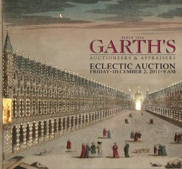 Garth's DEC2011_brochure_Layout 1 - Garth's Auctions, Inc.