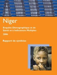 niger key findings draft 3 march 12 .indd - Measure DHS