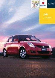 Der neue Swift 4x4 - Suzuki