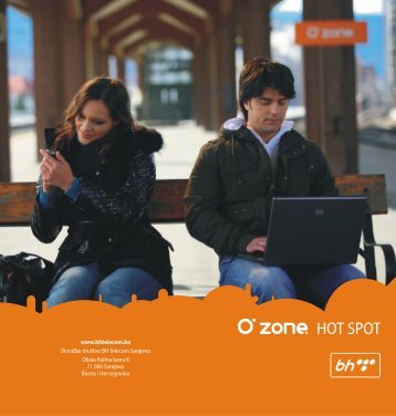 O-Zone HotSpot, bežični pristup internetu - BH Telecom