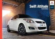 Swift Attitude Brochure - Suzuki