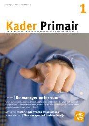 Kader Primair 1 (2009-2010) - Avs