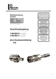 Niederdruck-Kupplung, Type 06-003, Rev-B - Carl Kurt Walther ...