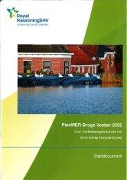 PlanMER Droge Voeten 2050 - Provincie Drenthe