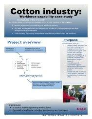 Regional Skills Development - Case Study 1 - NSSC