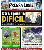EDICIÓN DOMINICAL EDICIÓN DOMINICAL - Prensa Libre