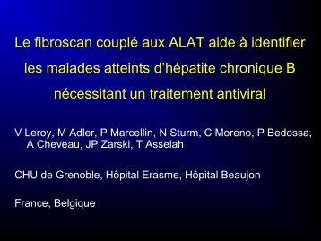 Le Fibroscan couplé aux ALAT aide à identifier les malades ... - Afef