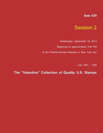 Session 2 - Daniel F. Kelleher Auctions, LLC