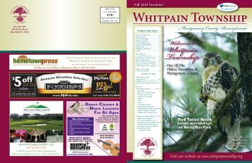 Park And Recreation - Whitpain Township