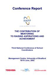 bradford conf1819june - Scottish Mentoring Network