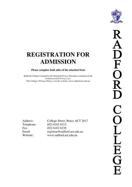 Radford admission essay