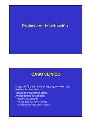 Protocolo de actuación en la osteoporosis