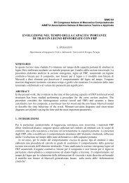 E. Speranzini - Ingegneria strutturale e geotecnica