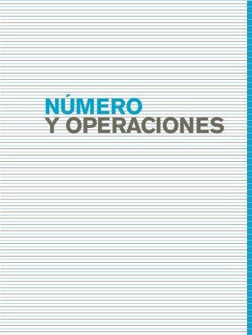 Número y Operaciones EJE - Escritorio de Educación Rural