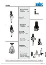 Zubehör - Siebert Hydraulik & Pneumatik