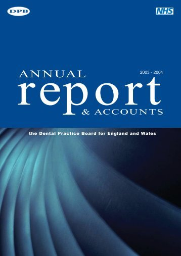 Annual Report & Accounts 2003-2004 (English) (PDF, new window ...