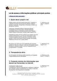 Lei de acesso a informações públicas: principais pontos - Blogs