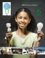 2010 Annual Report - Global Green USA