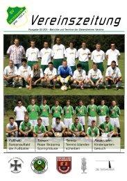 Vereinszeitung - SV Dietersheim