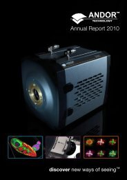 Annual Report 2010 - Andor Technology