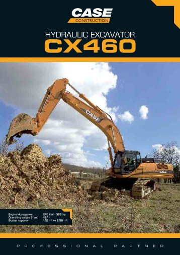 hydraulic excavator cx460 - CSE