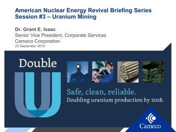 Uranium Mining - United States Energy Association
