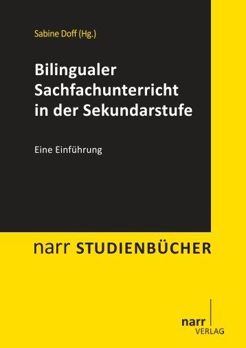 Bilingualer Sachfachunterricht in der Sekundarstufe - narr-shop.de