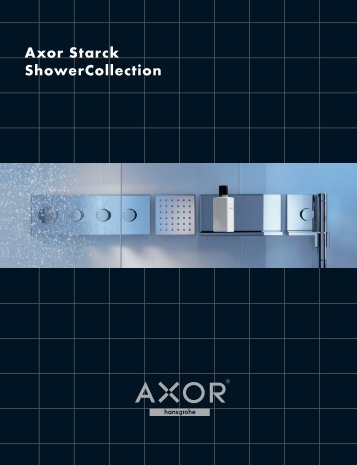 Axor Starck ShowerCollection - Masco Canada