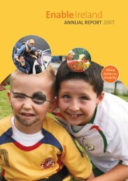 Annual Report 2007 - Part 1 - Enable Ireland