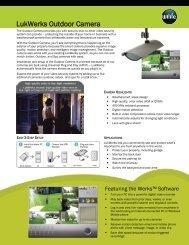 LukWerks Outdoor Camera - Security