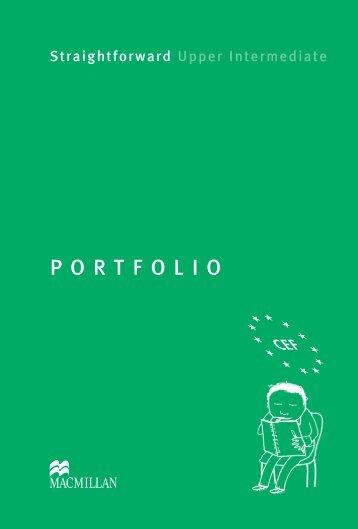 Upper Intermediate Portfolio - Straightforward