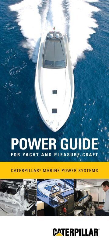 POWER GUIDE - Marine Engines Caterpillar