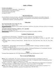 pdf format - Systems Neurobiology Laboratory - Salk Institute for ...