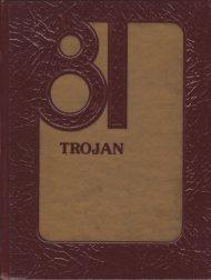 Trojan 1981 - Yearbook