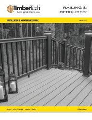 RAILING & DECKLITES® - Huttig Building Products