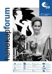 Behindertenforum Mitgliedorganisationen - Behinderten-Selbsthilfe ...
