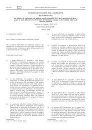 Decisione di esecuzione della Commissione, del 28 febbraio 2012 ...