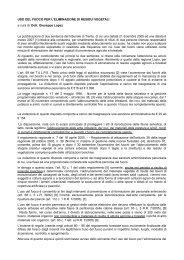 USO DEL FUOCO PER L'ELIMINAZIONE DI RESIDUI VEGETALI a ...