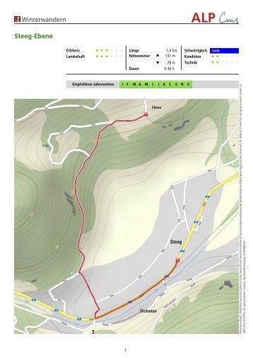 Winterwandern Steeg-Ebene - Lechtal-Reutte