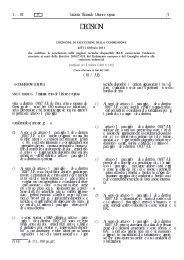 Decisione di esecuzione della Commissione, dell'11 febbraio 2013 ...