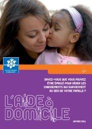 Télécharger la plaquette aide à domicile - Caf.fr