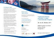 Kongressflyer RZ - japan-medizin-kongress.de