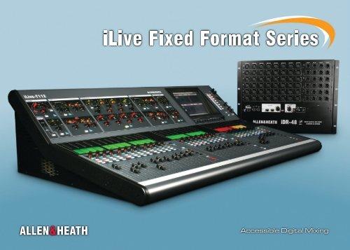 ilive Series digitale Mischsysteme (englisch) (5 74 MB - M-Akustik