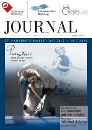 28.08.11 hamburgische staatsoper - Hamburg Ballett
